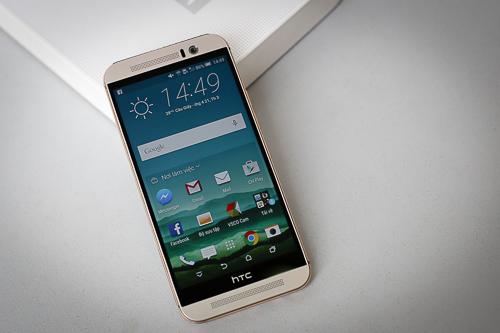 HTC One M9 có giá bán chính thức 16,99 triệu đồng, xen giữa Galaxy S6 và iPhone 6.