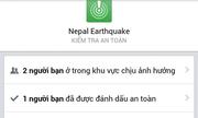 Facebook bổ sung chức năng 'Tôi an toàn' tại Nepal
