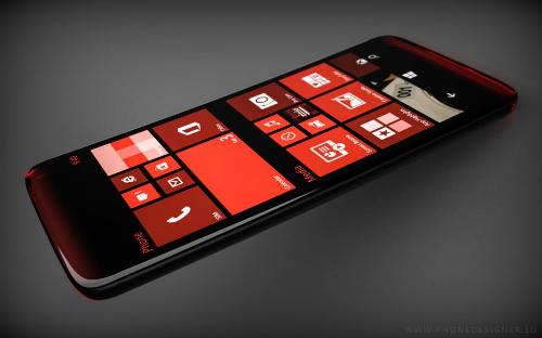 Một concept về chiếc Lumia cao cấp thế hệ mới của Microsoft.