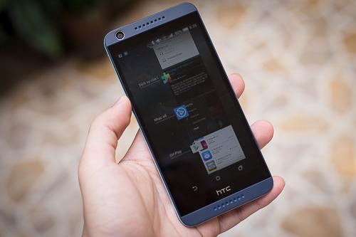 Desire 626G+ tập trung vào sự mượt mà nên giảm đi nhiều tính năng đặc trưng riêng, được đánh giá cao trên Android của HTC.