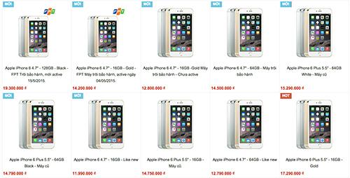 iPhone 6, 6 Plus hàng xách tay loạn chất lượng