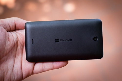 Camera là điểm yếu của Lumia 430.