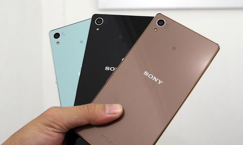 Sony Xperia Z4 hàng Nhật về Việt Nam giá 12,8 triệu đồng