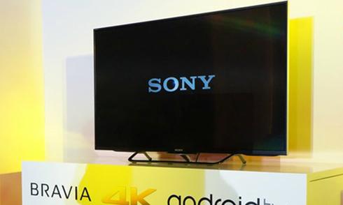 Android TV 4K của Sony có giá từ 20 triệu đồng