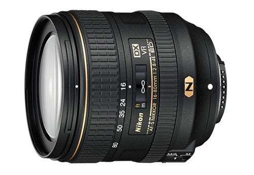 AF-S DX Nikkor 16-80mm F2.8-4E ED VR.