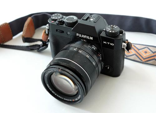 Fujifilm X-T10.