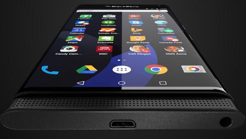Điện thoại BlackBerry chạy Android lộ ảnh