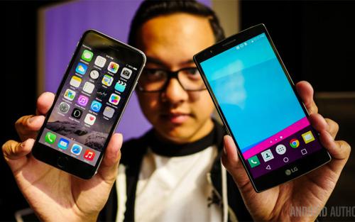 Pin dự phòng MiLi Power: Đọ camera giấu mặt: LG G4 đấu iPhone 6