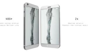 Ý tưởng iPhone hai màn hình
