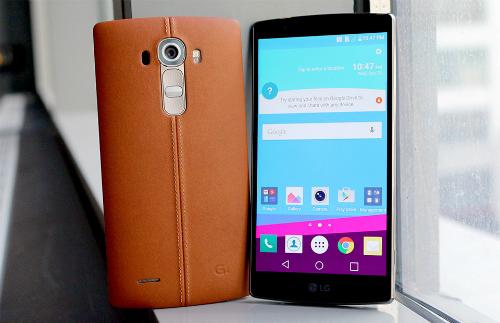 Điện thoại LG G4 vừa ra mắt Việt Nam ngày 22/6.