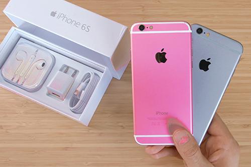 Pin dự phòng MiLi Power: iPhone 6S chưa ra đã có hàng nhái màu hồng
