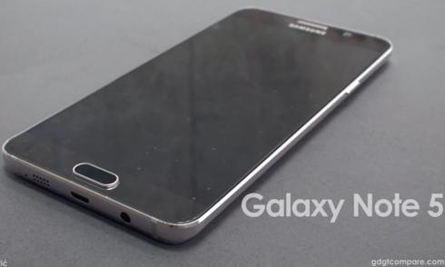Ảnh dựng Galaxy Note 5 qua các tin đồn
