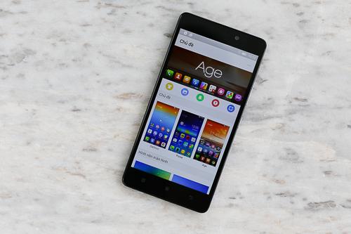 Máy có hiệu năng ấn tượng so với tầm tiền, hoạt động trên Android 5.0 Lollipop.