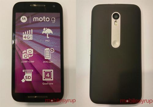 Pin dự phòng MiLi Power: Smartphone giá rẻ Moto G 2015 có tính năng chống nước