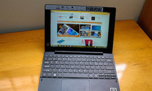 Mở hộp Acer Aspire Switch 10E máy tính lai giá rẻ