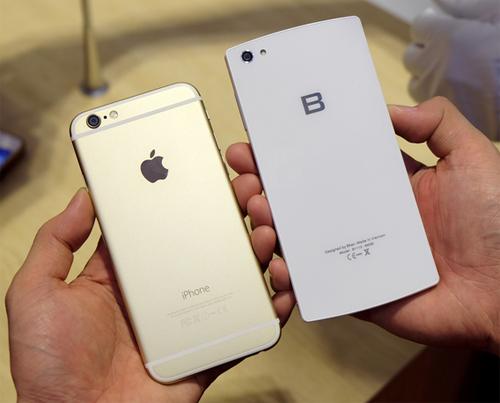 Pin dự phòng MiLi Power: Đọ camera giấu mặt: Bphone đấu iPhone 6