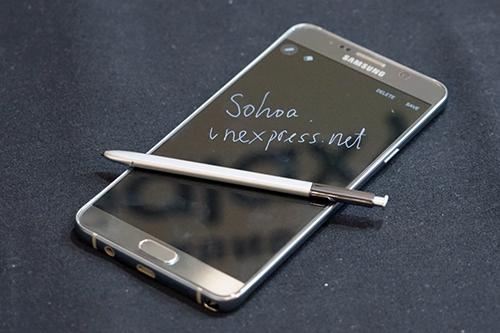 Pin dự phòng MiLi Power: Bút S-Pen, 'vũ khí' để Note 5 khác biệt với iPhone