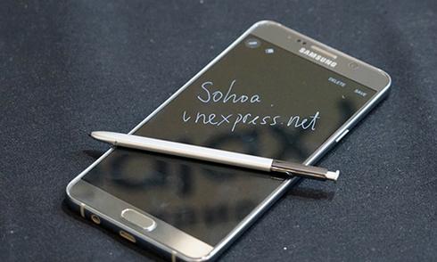 Bút S-Pen, 'vũ khí' để Note 5 khác biệt với iPhone