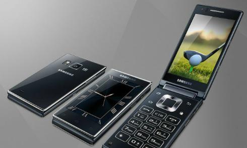 Samsung ra điện thoại nắp gập phong cách giống Note 5