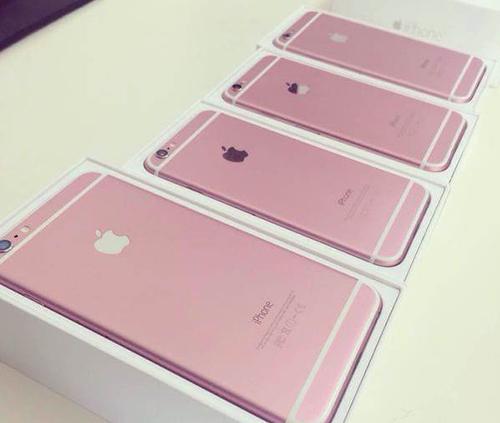 Ảnh được cho là iphone 6s màu hồng