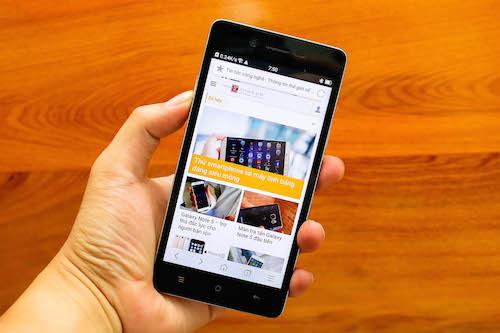 Đánh giá Oppo Mirror 5 - smartphone có mặt lưng vân kim cương