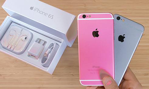 Ảnh nguyên mẫu iPhone 6S màu hồng