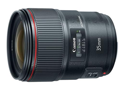 Canon EF 35mm F1.4L II USM.