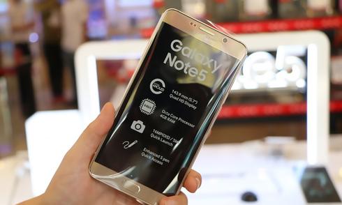 Mở hộp Galaxy Note 5 bản chính hãng