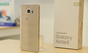 Galaxy Note 5 màu vàng hút khách trong ngày mở bán