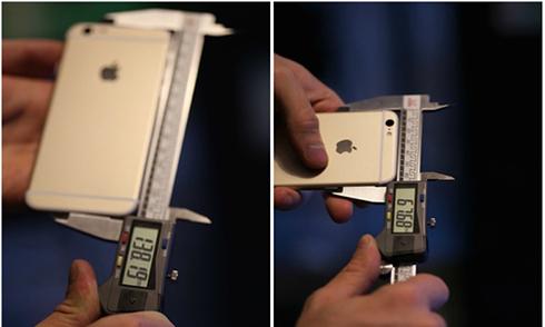 iPhone 6S sẽ to và dày hơn iPhone 6