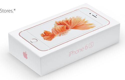 Apple bắt đầu cho phép người dùng đặt mua bộ đôi iPhone 6s và 6s Plus vừa trình làng từ 12/9, sau đó giao máy từ 25/9