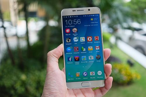 Thiết kế là sự đột phá của Galaxy Note 5 so với những thế hệ tiền nhiệm.