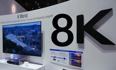 TV 8K đầu tiên trên thế giới có giá khoảng 3 tỷ đồng