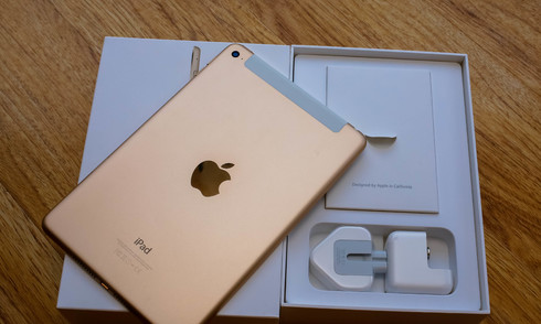 iPad Mini 4 đầu tiên về Việt Nam