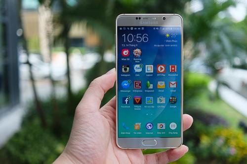 Galaxy Note 5 đang là smartphone Android bán chạy nhất