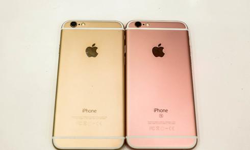 iPhone 6 và 6s đọ dáng