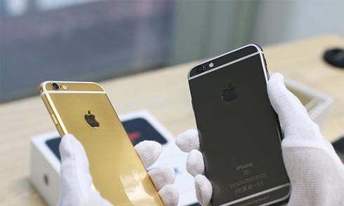 iPhone 6s phiên bản vàng đen