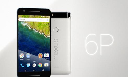 Google Nexus 6P màn hình 5,7 inch, vỏ kim loại ra mắt
