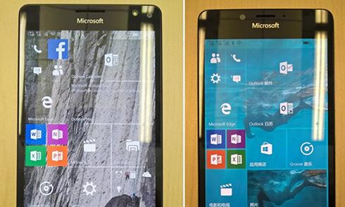 Bản thử Lumia 950 lộ ảnh với cảm biến võng mạc