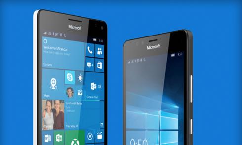 Lumia 550 chạy Windows 10 giá hơn 3 triệu đồng