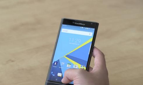Video thực tế smartphone Android đầu tiên của BlackBerry