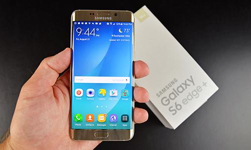 Galaxy S6 edge+ có bản cập nhật phần mềm đầu tiên