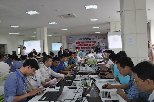 Vietnam leads the cyber security exercise