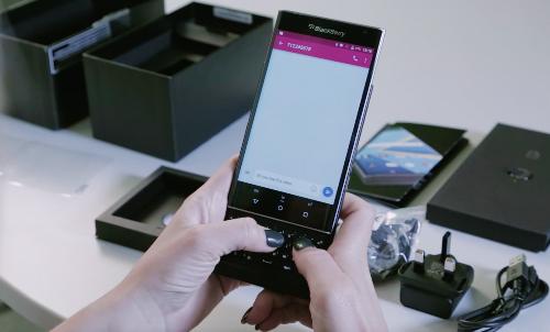 Trên tay Blackberry Priv