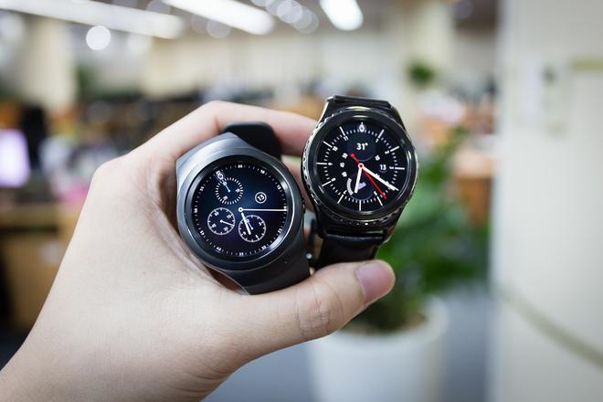 Mở hộp Gear S2 - đồng hồ thông minh mặt tròn đầu tiên của Samsung