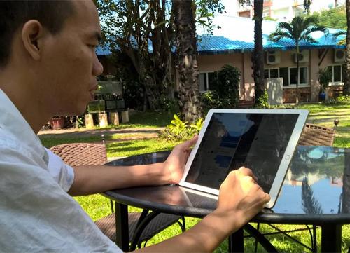 iPad Pro có kích thước ngoại cỡ nhưng trải nghiệm giải trí rất thú vị.