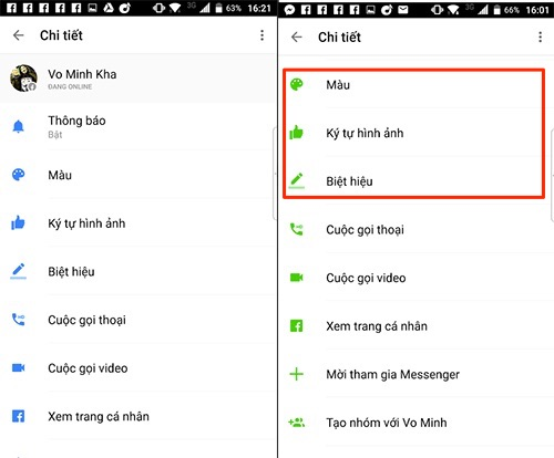 Facebook nâng cấp Messenger, cho gán biệt hiệu và đổi màu nền chat - 109068