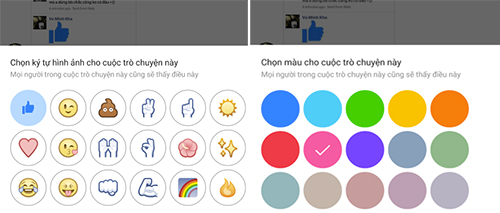 Facebook nâng cấp Messenger, cho gán biệt hiệu và đổi màu nền chat - 109070