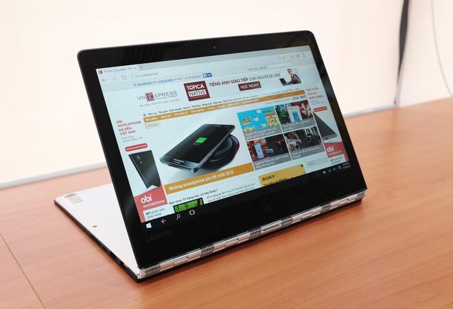 Mở hộp laptop màn hình xoay cao cấp nhất của Lenovo