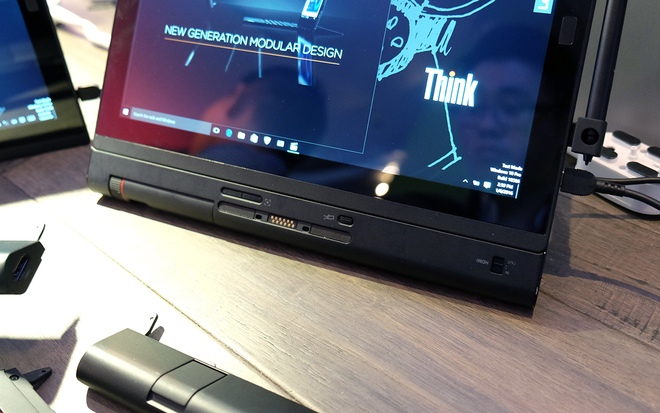 Lenovo X1 Tablet - máy tính bảng tùy biến laptop, máy chiếu